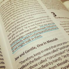 Ephesians 2:10 TLV