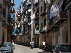 Narrow street in Palermo
