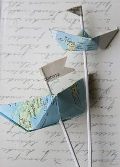 Tutorial :: How to Fold Nautical Paper Boats.  LOVE THIS.  Love boat baby/wedding shower theme and about ten thousand other good ways to use these.