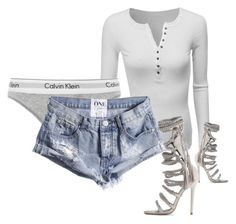 """""""Untitled #274"""" by rhiannonkennedy ❤ liked on Polyvore featuring Doublju, Calvin Klein Underwear and Monika Chiang"""