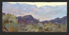 View Toward Death Valley - Nathan Fowkes