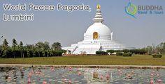 World Peace Pagoda, Lumbini!  #WeLoveNepal