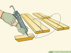 How to Build a Picnic Table. Whether you plan on sitting in the shade or having a picnic, having a sturdy table helps. Building a good table is relatively. Woodworking Techniques, Woodworking Plans, Indoor Firewood Rack, Ideas Terraza, Build A Picnic Table, Log Cabin Designs, Table Frame, Go Outdoors, Table Legs