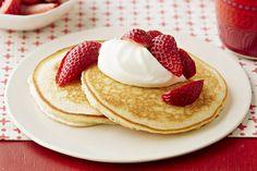Strawberry Cheesecake Pancakes Image 1