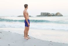 Navy and magenta Gorilla print men's tailored swim shorts. Available in boy's sizes too, each collection from Galago Joe is dedicated to one animal, with of all profits being donated to associated charities. Mens Tailor, Kid Cupcakes, Donate To Charity, Swim Shorts, Magenta, Navy, Boys, Organization, Swimwear