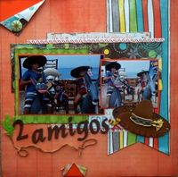 A Project by scrappinready from our Scrapbooking Gallery originally submitted 01/20/14 at 09:22 PM