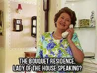 Keeping Up Appearances  When parusing FB I think of this lady often....