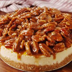 69 ideas for baking recipes desserts cheesecake peanut butter Pecan Desserts, Pecan Recipes, Desserts To Make, Pie Recipes, Dessert Recipes, Cheap Recipes, Simple Recipes, Baking Recipes, Best Pecan Pie