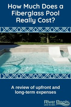 Want to add a fiberglass pool to your home? Here's an overview of fiberglass pool pricing, including upfront construction costs and lifetime maintenance expenses. #swimmingpool #ingroundpool #fiberglasspools Fiberglass Pool Prices, Fiberglass Swimming Pools, Construction Cost, In Ground Pools, Waves, Backyard, Outdoor Decor, Shopping, Fiberglass Pools