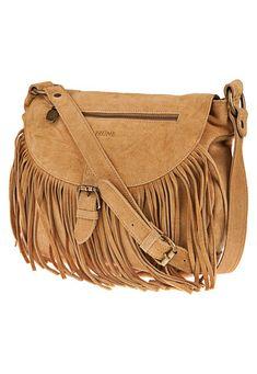 Bandolera Suela de Prüne Flecos  de Prune Tan Leather Handbags, Tan Handbags, Leather Wallet, Hand Bags 2017, Fringe Bags, Boho Bags, Leather Bags Handmade, Beautiful Bags, Fashion Bags