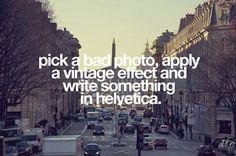 #hipstereffect