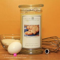 Sugar Cookies Jewelry Candle