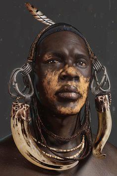 Heart of Africa, sichen zhang on ArtStation at https://www.artstation.com/artwork/dLDWW