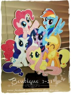 My Little Pony centerpiece by Boutique321 on Etsy, $6.00