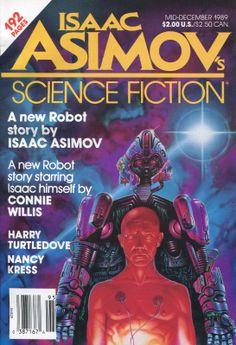 Isaac Asimov Science Fiction Magazine - Mid-December 1989