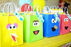 Amanda's Parties To Go: Sesame Street Customer Party