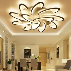 Ceiling Lights Remote Control Led Ceiling Light With Ultra-thin Acrylic Lamp Ceiling For Living Room Bed Room Flush Mount Lamparas De Techo