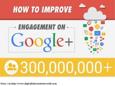 How to improve engagement on google+ by Mindinventory via slideshare