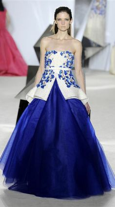 Alta Costura: Giambattista Valli - Primavera-Verão 2014 - Vogue Portugal
