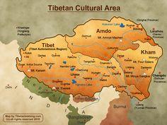 Tibet Location and simple history   Tibetan Trekking