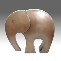 Spectacular Elephant  Large abstract sculpture by ArtEthniko, $697.00