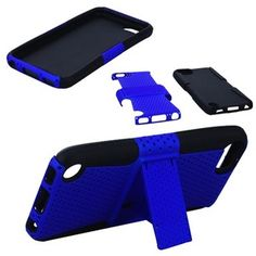 $12.95 Stylish Mesh Hole Design Silicone Protective Back Case Stand for iPod Touch 5