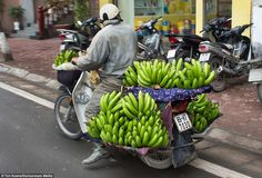 These scenes play out on a daily basis in Vietnam, but they're an eye-opener for Western tourists