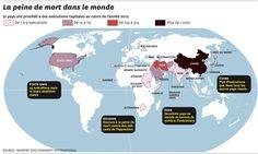 INFOGRAPHIE. Peine de mort : Amnesty International au rapport   Courrier international