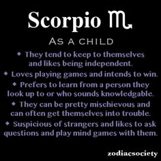 I'm cracking up. Both Mia and I are Scorpios.