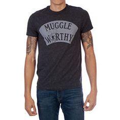 FANTASTIC BEAST MUGGLE WORTHY Short-Sleeve Graphic T-Shirt