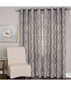 """Elrene Medalia 52"""" x 95"""" Panel - Curtains & Drapes - For The Home - Macy's"""