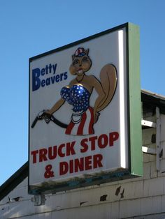 Betty Beavers Truck Stop & Diner, Lewis :)