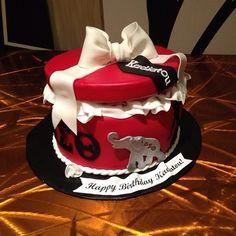 Delta Sigma Theta cake