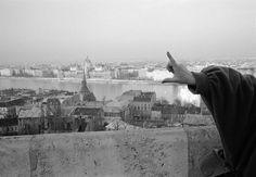 John Vink - Budapest. 23/03/1989: View on the Danube.
