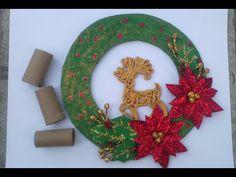 YouTube Symbols, Youtube, Toilet Paper, Napkins, Holiday Ornaments, Crowns, Paper Envelopes, Xmas, Manualidades