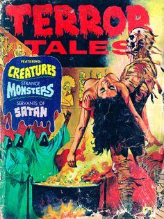 Terror Tales Vol. 04 #3 (Eerie Publications, 1972) #pulp #comics