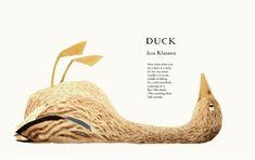 Duck, by Eric Carle, illustration by Jon Klassen