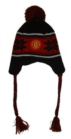 7e76228407d Manchester United Peruvian Beanie (Style 03 - Black Red) Rhinox. Save 43  Off!.  16.99