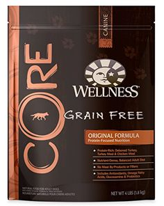 Wellness CORE Natural Grain Free Dry Dog Food, Original Turkey & Chicken, 4-Pound Bag - http://www.balanced4u.net/crittercare/wellness-core-natural-grain-free-dry-dog-food-original-turkey-chicken-4-pound-bag/