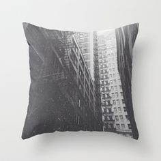 Urban 1 Throw Pillow by Dan Howard - $20.00 Chicago, Second City, Black and White Photography from Dan Howard. State Street. Black and White Caffenol. Develop Coffee at Home. Self-representing Artist. Society 6 Artist. Buy online. Free Delivery. Etsy type gifts. Cool gifts for men. Gifts for guys, Gifts for men and gifts for artists. Urban Art. texture, black and white photography.