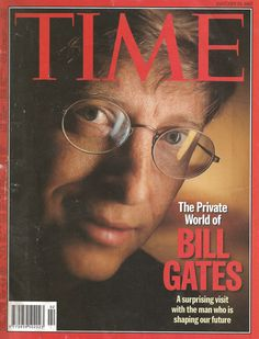 TIME Magazine Cover: The Private World of BILL GATES - January 13,1997