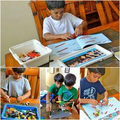 Homeschool learning with LEGO - Add LEGO Bricks To Your Homeschool