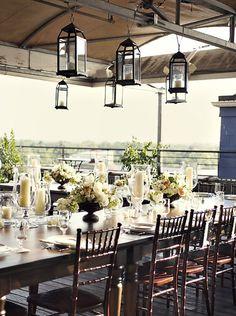 Rustic elegance - table decor @Amy Wentz