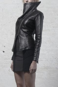 KEN CHEN - A/W 2013-14 - Sicarius Leather Jacket