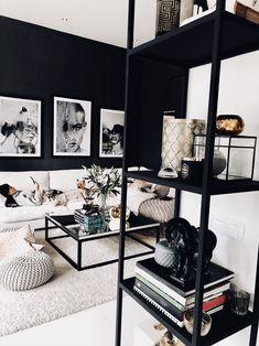 Bianca Ingrosso » MY SECOND HOME Interior Decorating, Interior Design, Stylish Home Decor, Black Decor, Building A House, Room Decor, House Design, Living Room, Inspiration