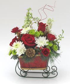 Sleigh Ride Bouquet-Atlanta Florist Hall's Flower Shop