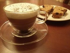 A lovely latte and a sweet treat to start the day... All made in the comfort of your own home! http://www.westplextea.com