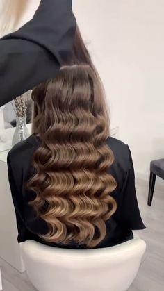 Hairdo For Long Hair, Bun Hairstyles For Long Hair, Bride Hairstyles, Hair Up Styles, Medium Hair Styles, Wedding Hair And Makeup, Hair Makeup, Hair Style Vedio, Updo Hairstyles Tutorials