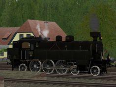 Personenzug-Tenderlokomotiven Südbahn 629 / kkStB 629