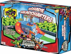 Amazon.com : Maisto Super Hero Squad: Headquarters Play Set : Toy Vehicle Playsets : Toys & Games